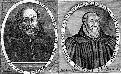 Andrae and Chemnitz, the two principal authors of the Formula of Concord.